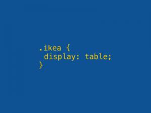 Ikea code pun