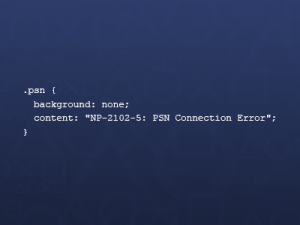 PSN code pun